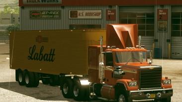 "American Truck Simulator ""Полуприцепы Fruehauf Dryvan 1951 Version 2 ATS 1.37.x"""