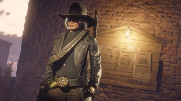 "Red Dead Online предлагает награду за лидера банды ""Дель Лобос"" Кармелу Монтес"