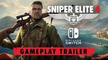 Геймплейный трейлер Sniper Elite 4 для Nintendo Switch
