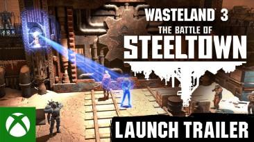 """Стало доступно DLC """"The Battle of Steeltown"""" для Wasteland 3"""