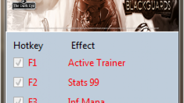 Blackguards: Трейнер/Trainer (+5) [3.5.6.44817] {MrAntiFun}