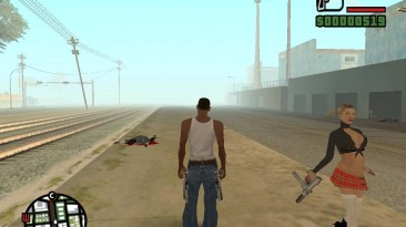 """Grand Theft Auto: San Andreas """"Укрепление макушек всех жителей Сан Андреса на выбор (SA) 1.0"""""""