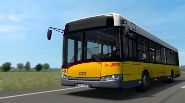 "Euro Truck Simulator 2 ""Автобус Solaris Urbino III 12 v2.0.11.42 (1.42.x)"""