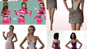 "Sims 2 ""Набор одежды для Ж (2020)"""