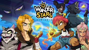 Тизер-трейлер и скриншоты Wander Stars - ролевой игры в стиле аниме 90-х