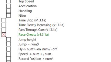 Asphalt 9: Legends: Таблица для Cheat Engine (+8) [13.02.2019] {MartaLabieniec}
