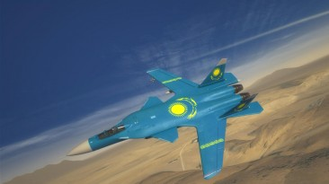 "H.A.W.X 2 ""Скин казахстанского флага для Су-47"""