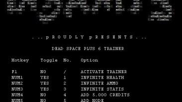 Dead Space: Трейнер (+6) [1.0] {iNSANiTY}