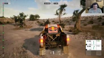 Первый взгляд - Dakar 18 (Камаз, пустыня, грязь)