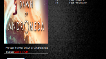 Dawn of Andromeda: Трейнер/Trainer (+4) [1.00] {MrAntiFun}