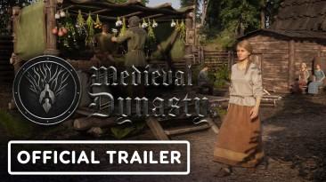 Релизный трейлер Medieval Dynasty: охотьтесь, выживайте, стройте и правьте в суровом Средневековье
