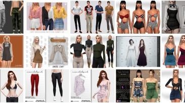 """The Sims 4"""" Небольшой недельный пак одежды #2"""""""