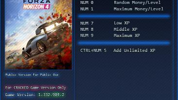 Forza Horizon 4: Трейнер/Trainer (+6) [1.0 | 1.332.904.2] {'pSYcHo}