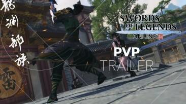 Для Swords of Legends Online вышел трейлер с PvP-режимами