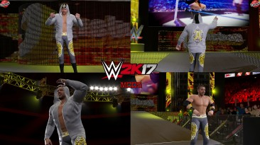 """WWE 2K17 """"Christian Cage AEW All Out '21 Наряд WWE 2K19 Порт Мод"""""""