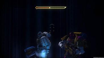 """Warhammer 40.000: Space Marine """"визуальный мод эффектов"""""""