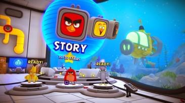 Демонстрация игрового процесса The Angry Birds Movie 2 VR: Under Pressure для PS VR