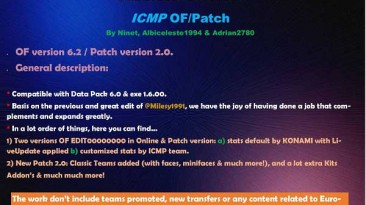 """Pro Evolution Soccer 2019 """"ICritMyPants Patch 2.0 Update OF 28.08.2019"""""""