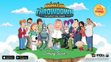 Animation Throwdown: The Quest for Cards - ККИ с Family Guy, Futurama, Bob's Burgers и King of the Hill