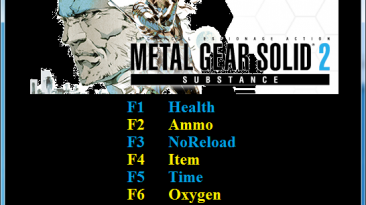 Metal Gear Solid 2 Sons of Liberty: Трейнер/Trainer (+8) [1.0] {Abolfazl.k}