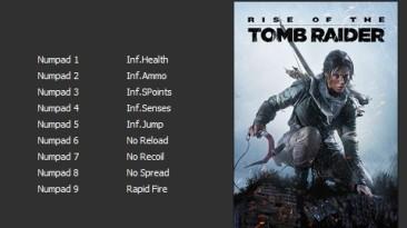 Rise of the Tomb Raider - 20 Year Celebration: Трейнер/Trainer (+9) [v1.0.767.2] {Enjoy}