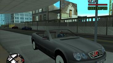 "Grand Theft Auto: San Andreas ""Mercedes-Benz CL600 Cabrio"""
