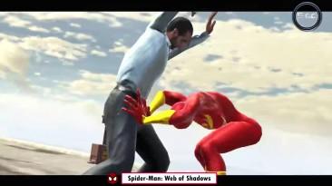 Эволюция костюма железного паука в играх про человека паука