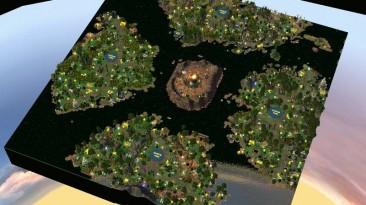 "Heroes Of Might And Magic 5: Повелитель орды ""Карта - Islesof Traders"""