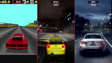 Need for Speed 1994 vs. Underground 2003 vs. NfS 2015 Сравнение графики