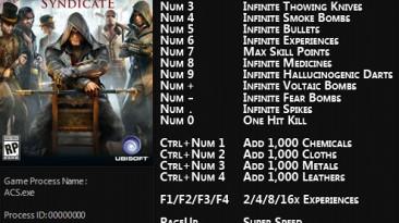 Assassin's Creed: Syndicate: Трейнер/Trainer (+21) [1.12 - 1.4] {FLiNG}