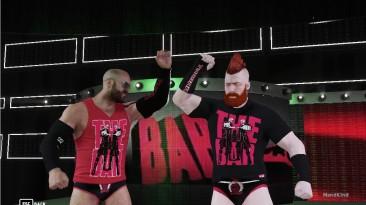 """WWE 2K18 """"The Bar 2018 mod"""""""
