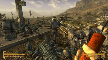 "Fallout: New Vegas ""Рендеринг через Vulkan"""