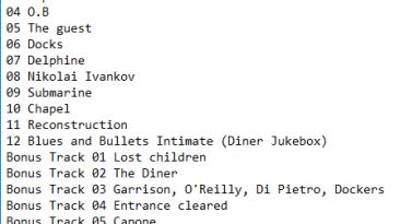 """Blues and Bullets """"Original Soundtrack mp3"""""""
