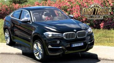 "Euro Truck Simulator 2 ""BMW X6M F16 v2.2 (v1.42.х)"""