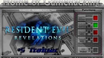 Resident Evil ~ Revelations HD: Трейнер/Trainer (+5) [All Versions] {sILeNt heLLsCrEAm / HoG}