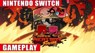 Видео игрового процесса Super Meat Boy Forever