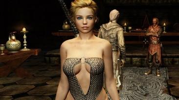 The Elder Scrolls 5 Skyrim: Legendary Edition: Сохранение/SaveGame (Demonica-Eva, в замке Волкихар, первое задание от Харкона)