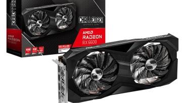 ASRock представила две видеокарты серии Radeon RX 6600 Challenger