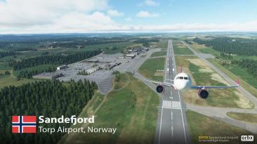 Компания Orbx анонсировала аэропорт Сандефьорд-Торп для Microsoft Flight Simulator