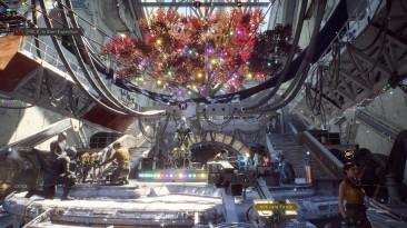 Даже BioWare забыла об Anthem. В игре до сих пор празднуют Рождество