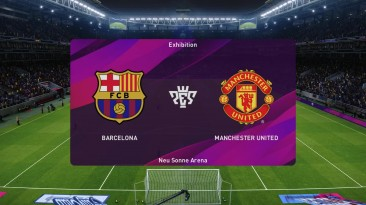 eFootball PES 2020 - Barcelona против Manchester United