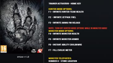 Evolve: Трейнер/Trainer (+9) [1.0] {LinGon}