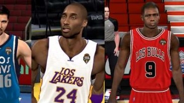 """NBA 2K11 """"Noche Latina jerseys Pack V1"""""""