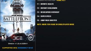 Star Wars: Battlefront (2015): Трейнер/Trainer (+5) [1.0.4.52851] {LinGon}