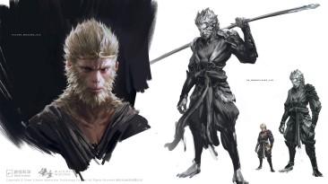 Концепт-арты Black Myth: Wu Kong