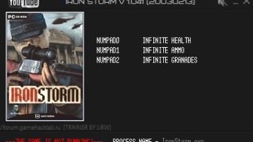 Iron Storm: Трейнер/Trainer (+3) [1.041] {LIRW / GHL}