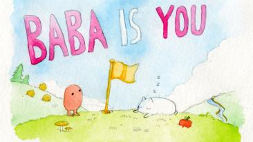 Пиксельная головоломка Baba Is You, где вы сами устанавливаете правила, выйдет 13 марта