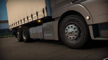 "Euro Truck Simulator 2 ""Пак колёс для грузовиков и прицепов версия 1.0"" (v1.32.x - 1.34.x)"