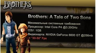 "Brothers: A Tale of Two Sons ""Оптимизация для слабых ПК"""