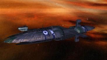 "Star Wars: Empire at War ""Republic at War: Изменение текстуры для фрегата Щедрый"""